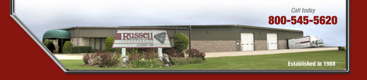 Russell Products is located in Bristol Indiana. Est in 1988.